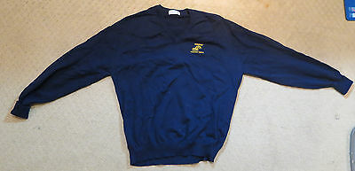 Conrail Collectible - Navy Blue Large Men's Sweater and Golf Towel