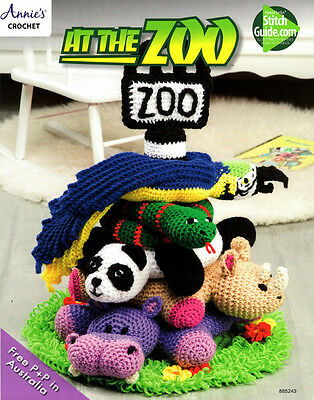 At the Zoo by Annies Crochet