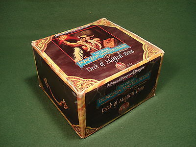 AD&D - Deck of Magical Items - TSR 2nd Edition Game Accessory +400 card set
