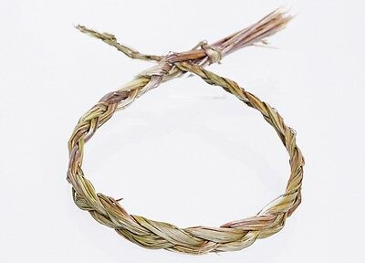 Sweet Grass Braid 24 inches Natural Organic Smudge