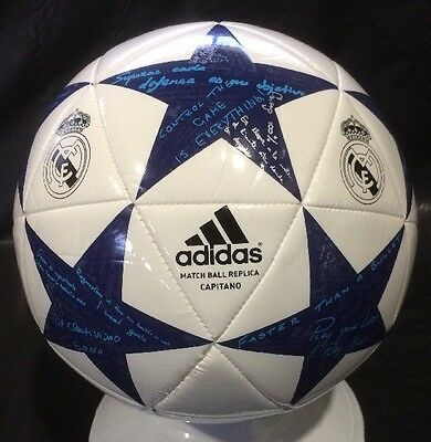 Real Madrid FC Football Adidas Soccer Ball Size 4 UEFA Champions League ball NEW