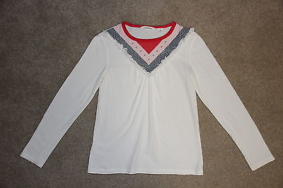 Girls Size 7 Country Road 100% cotton long sleeve top - like new  - hardly worn
