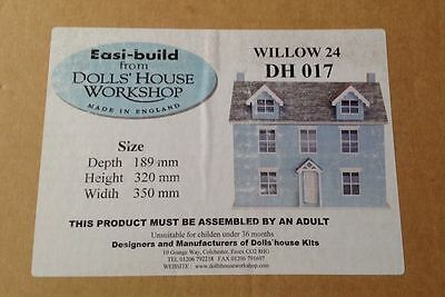 Dolls House Workshop Willow Cottage 1:24th Scale Kit