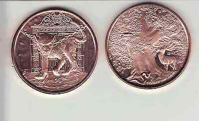 GARM  1 oz. Copper Round coin  4TH  in Series   NORDIC CREATURES