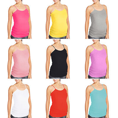 Women Summer Women Maternity Pregnant Camisole Casual Tank Tops Strappy Vest
