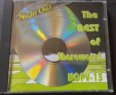 Night Owl #13 PC Shareware CD from the 90's