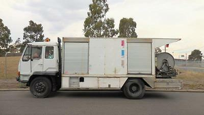 Mitsubishi Fm517 Water Jetting Truck With Sewer Cleaner