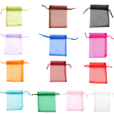 Jewellery Organza Pouches Bags for Wedding Party Small Gift Confectionery