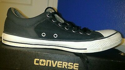 Black Low Top Converse All Star Chuck Taylor Men's Size 9