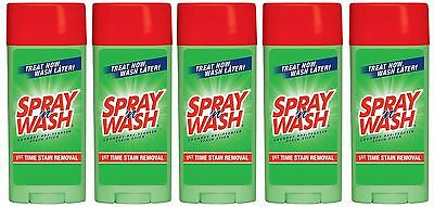 5 Resolve Spray 'n Wash Laundry Pre-Treat Stain Remover 1st Time Stain Remover