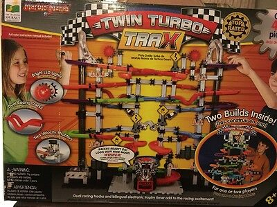 The Learning Journey Techno Gears Marble Mania Twin Turbo Trax, Over 400 Pieces