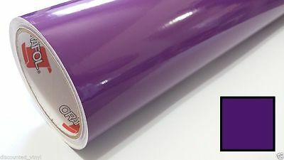 Gloss ~ PURPLE VIOLET ~ Vinyl Graphics Decal Sticker Sheet Film Roll Overlay 24""