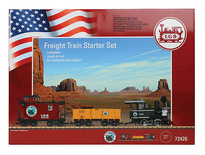 LGB of America-American Freight Starter Set - Standard DC -- Lake George & Bould