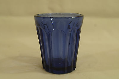 Rare EAPG Pittsburgh Violet Pontiled Arched Paneled Shot Glass Circa 1850s