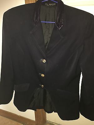 Showstoppers Cutaway jacket. Ladies Size 8. Navy
