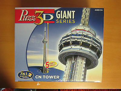 Puzz 3D - CN Tower - 761 Piece 3D puzzle - Sealed