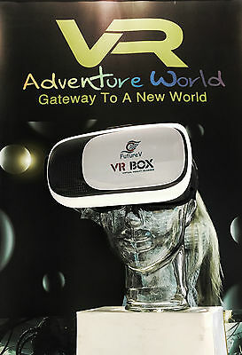 FutureV VR BOX headset Virtual Reality 3D Glasses iPhone android