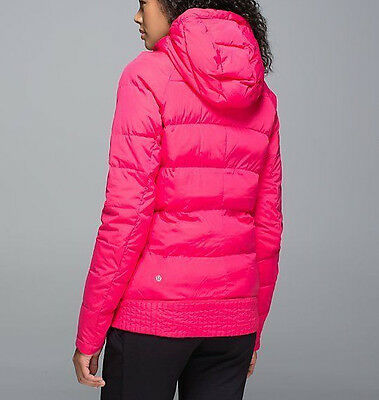 Lululemon Fluffed Up Pullover Boom Juice Size 8 NWT Retail $168