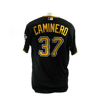 2016 Pittsburgh Pirates Arquimedes Caminero Spring Training Game Issued Jersey