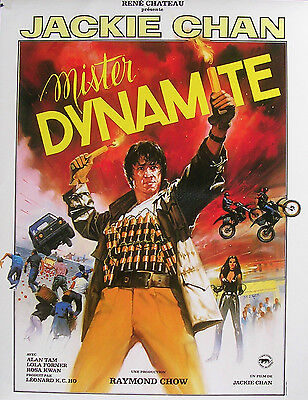 MISTER DYNAMITE - Jackie Chan - SYNOPSIS D'ÉPOQUE (1986)