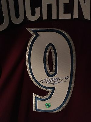 Matt Duchene Autographed Jersey With Certificate Of Authenticity!