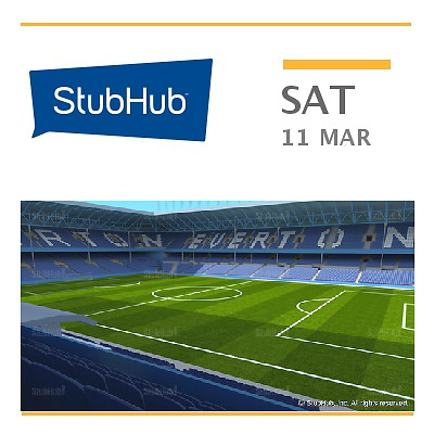 Everton v West Bromwich Albion FC Tickets - Liverpool