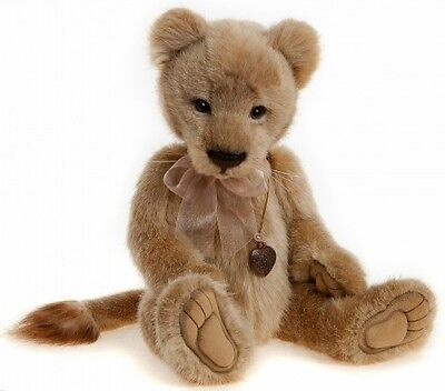 Charlie Bears Lyra plush lioness designed by Isabelle Lee