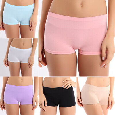 Vogue New Womens Dancing Sport Shorts Spandex Elastic Pants Safety Underwear