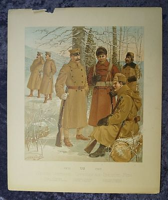 The Army Of The United States Henry Alexander Ogden 10 Chromolithography #b885S
