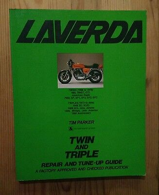 Factory Approved Laverda Twin & Triple Repair & Tune Up Guide By Tim Parker