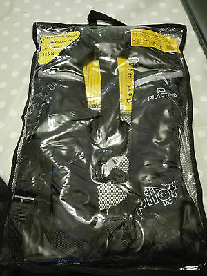 NEW Plastimo Pilot 165N Hydrostatic Self-Inflating Life Jacket ISO 12402-3