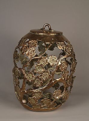 An Unusual 19th Century Chinese 清朝 (Qing Dynasty) Bronze Lampshade.