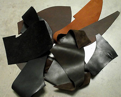 Leather Pieces Offcuts Cowhide Thick Leather, Craft Knife Sheath