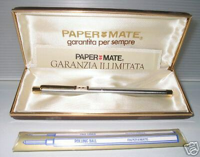 Penna Papermate Dynasty Roller A 2 Scritture Anni '80