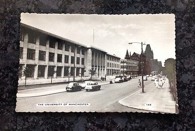 A 1960'S Postcard Of The University Of Manchester