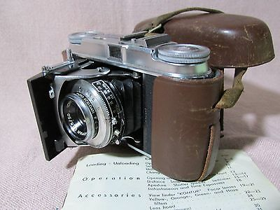 Voigtlander 35mm camera, well treated by lady owner.