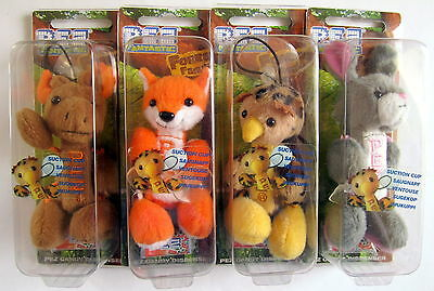 PEZ - FOREST FAMILY 2006 -  set of 4 - MOC