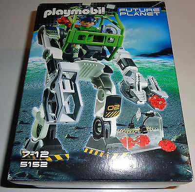 "Retired Playmobil 5152 Future Planet ""Robot Collectobot"" NEU NEW NRFB MIB NEUF"