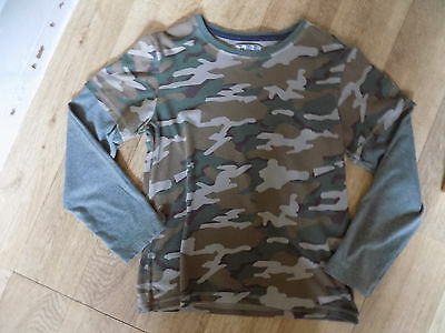 Age 10 years camouflage top