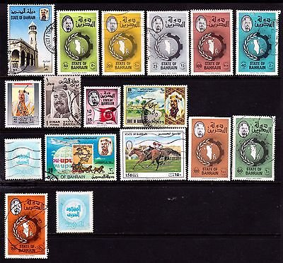 Bahrain Stamps. 1974+ Various Issues. #3033