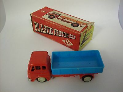 Vintage Toy Plastic Friction Car by TAT no.701A with box
