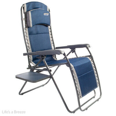 Chair. Ragley pro Blue Relax with Table. Great for Camping,Caravan,motorhomes