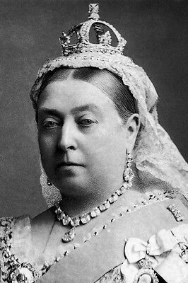 New 4x6 Photo: Portrait of Her Majesty Queen Victoria of the United Kingdom