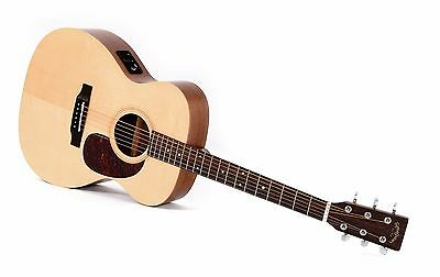 Sigma Acoustic Electric 000ME Small body Guitar Spruce and Mahogany PU and EQ