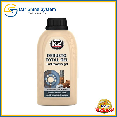 K2 DERUSTO TOTAL GEL Rust REMOVER KILLER TREATMENT PROTECT Gel 250ml