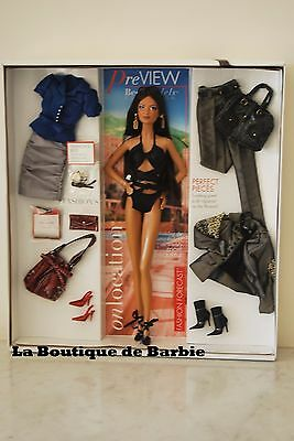 On Location: Monte Carlo Barbie Doll, Best Models Collection, J0944, 2006, Nrfb