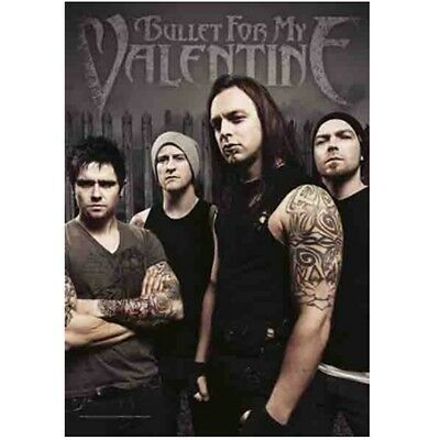 Bullet For My Valentine Band Textile Poster Flag