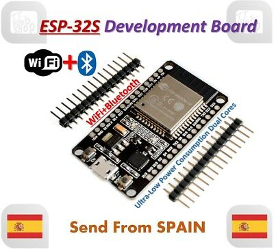 ESP32 Development Board WiFi+Bluetooth Dual Cores ESP-32 ESP-32S