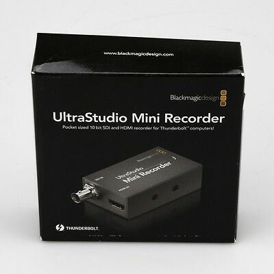 Blackmagic ulttrastudio mini recorder - used #253