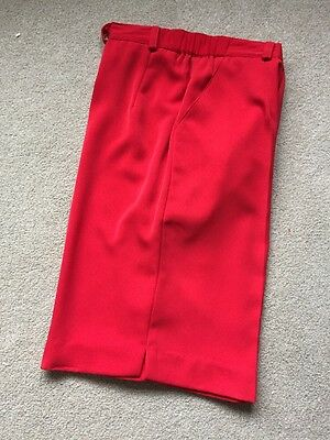 Womens Red Shorts Size 12